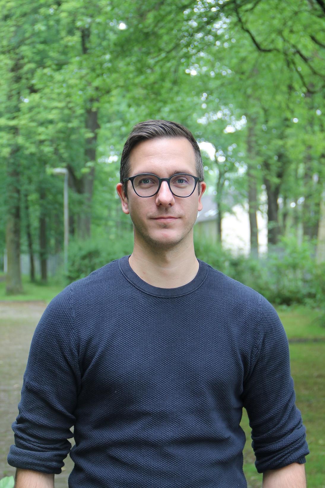 Gerrit Benson, Schulsozialarbeiterin der Katholischen Hauptschule Marl